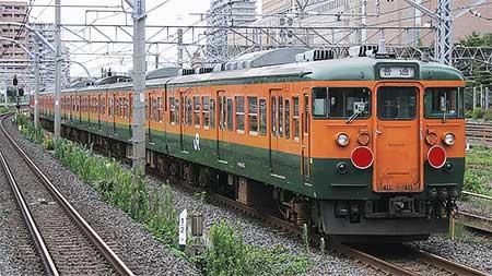 115系8両が長野へ