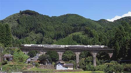 キハ183系「あそぼーい」が日田彦山線へ入線