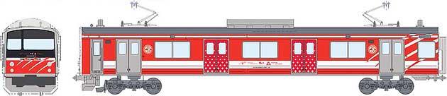 富士急行「マッターホルン号」運転開始