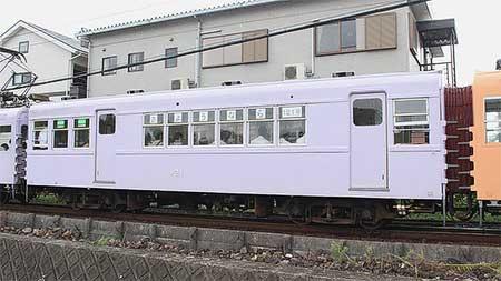あすなろう鉄道で,サ121号車が営業運転を終了