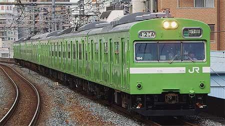 奈良支所所属の103系による大阪環状線乗入れが運用終了