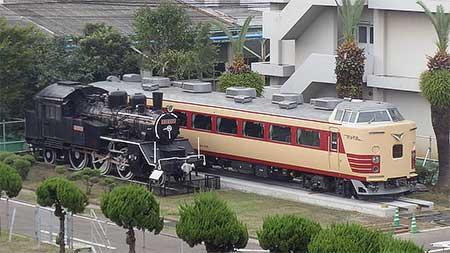 クハ481-256が小倉総合車両センターで保存される