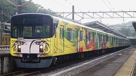 西武鉄道で新「銀河鉄道999デザイン電車」の運転開始