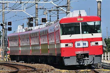 東武1800系1819編成による日光線「秋の臨時快速列車」運転