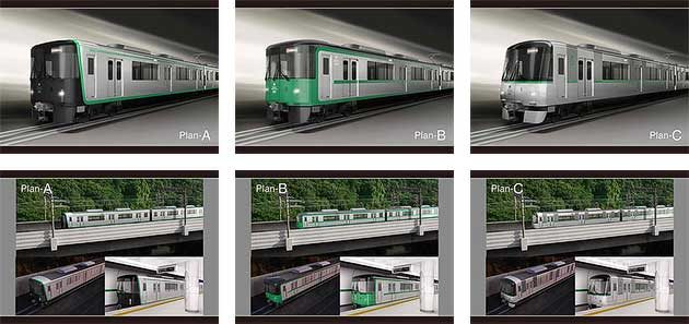 神戸市交通局,新形車両デザインのデザイン案を公開