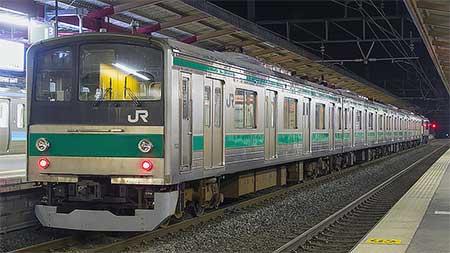 205系4両が長野へ