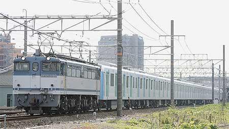 西武鉄道40000系第2編成が甲種輸送される