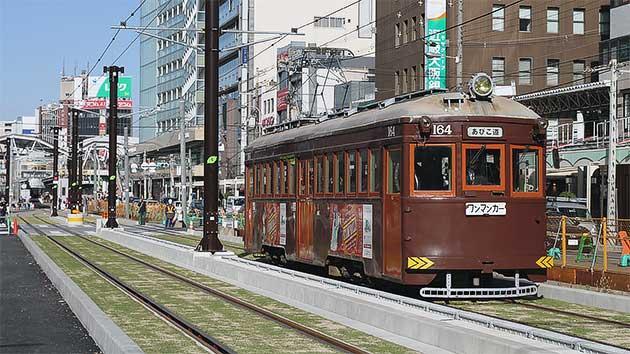 阪堺上町線 天王寺駅前—阿倍野間の軌道が移設される