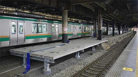 上野駅で「TRAIN SUITE 四季島」の運転開始に向けた準備がすすむ