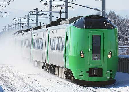 789系HE-104+HE-204編成が函館本線で試運転