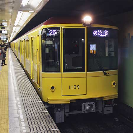 東京メトロ銀座線で特別仕様の1139編成が営業運転を開始