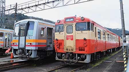 津山線で「津山車両基地入区体験号」運転