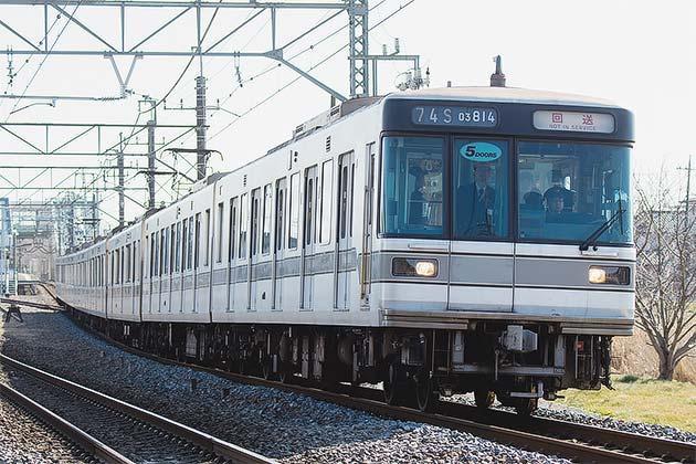 東京メトロ03系が北館林まで廃車...