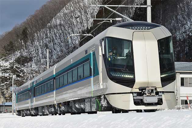 東武500系502編成が野岩鉄道・会津鉄道で日中試運転