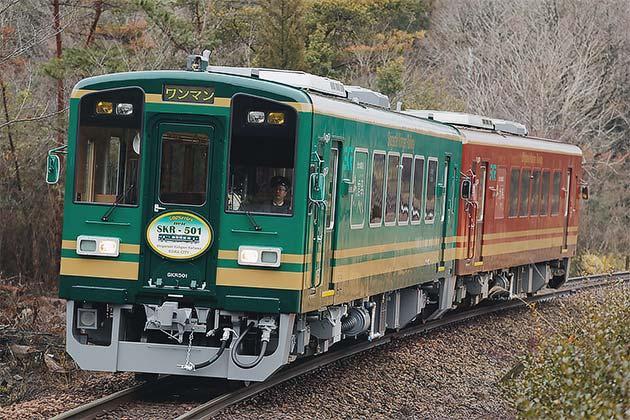 信楽高原鐵道SKR501が営業運転を開始