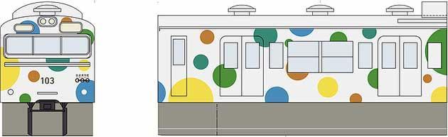 鉄道博物館の103系カラーデザインが決定