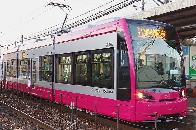 筑豊電鉄5000形5003が営業運転を開始