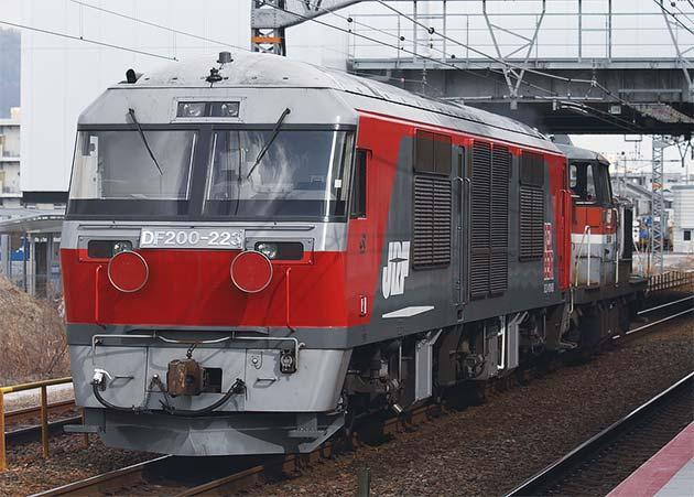 DF200-223が川崎重工兵庫工場から出場