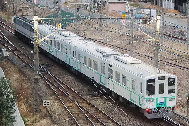 関東鉄道5010形2両が甲種輸送される