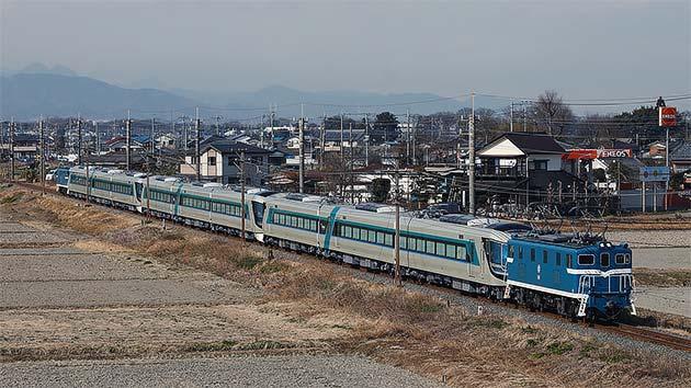 東武鉄道500系「リバティ」3編成が羽生へ