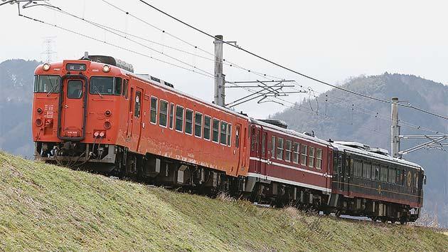 キハ40形と丹鉄車両が併結走行試験を実施