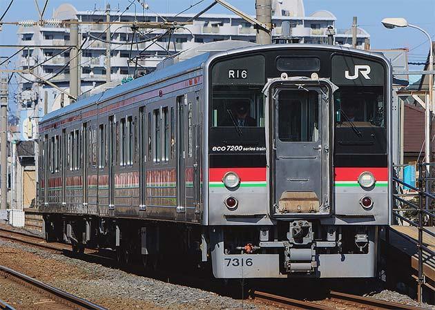 JR四国7200系の近況