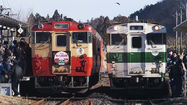 烏山線のキハ40形が引退