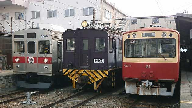 長野電鉄で『S11編成&ED5001形 お別れ会』開催