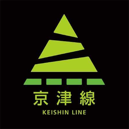 京津線の路線識別マーク