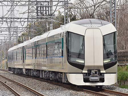 東武500系が野田線で日中に試運転
