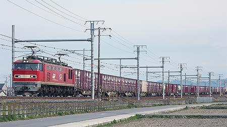 4084列車が時刻を変更して運転される