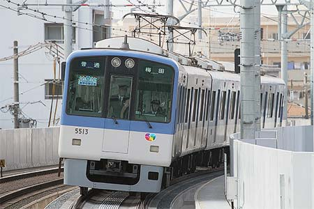 阪神本線 甲子園—武庫川間上り線が高架化される