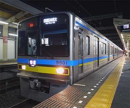 千葉ニュータウン鉄道9800形が営業運転を開始
