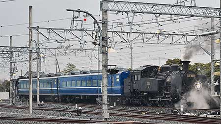 東武鉄道で『SL撮影会』開催