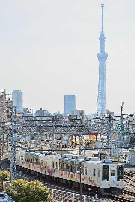 """東武""""スカイツリートレイン""""の運転終了"""