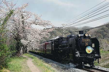 """秩父鉄道で""""SL森永イースターエクスプレス""""運転"""