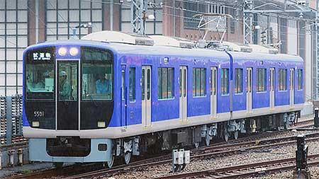 阪神5500系にリニューアル車が登場