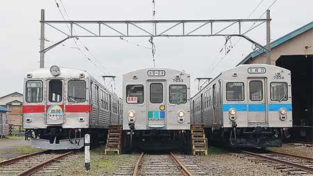 弘南鉄道大鰐線7000系に水間鉄道タイプ編成登場