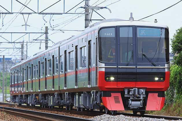 名鉄3300系増備車が試運転を実施...