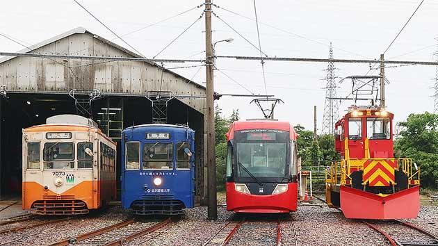 『万葉線開業15周年記念「電車まつり」』開催