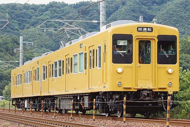 岡山電車区の105系が全車黄色一色に