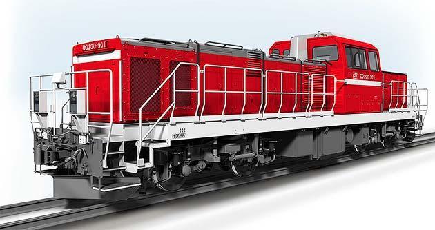 JR貨物,DD200形を導入