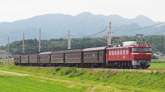 旧形客車7両が高崎へ