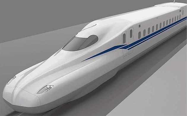 JR東海「N700S」のデザインを発表