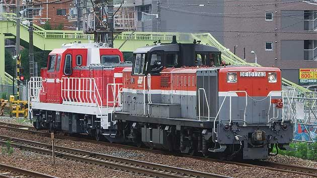 DD200-901が甲種輸送される