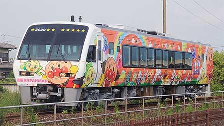「アンパンマン列車」2030号車が出場