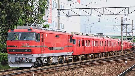 名鉄6000系が東名古屋港へ