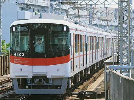 山陽6000系が阪神線内でハンドル訓練