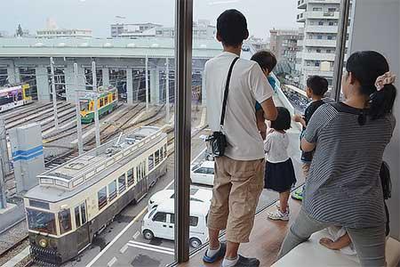 鹿児島市交で『夏休みこどもかごでんツアー』開催