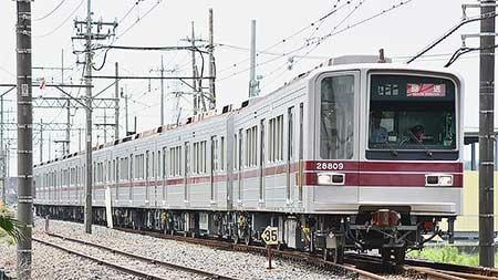 東武鉄道20000系が渡瀬へ